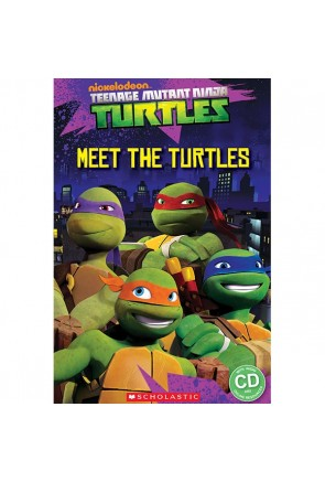 Teenage Mutant Ninja Turtles: Meet the turtles! (book & CD)