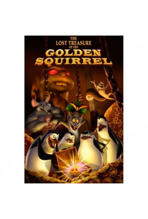 THE LOST TREASURE OF THE GOLDEN SQUIRREL (BOOK + CD)