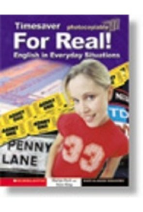 TIMESAVER FOR REAL! ENGLISH IN EVERYDAY SITUATIONS (+ AUDIO CD)