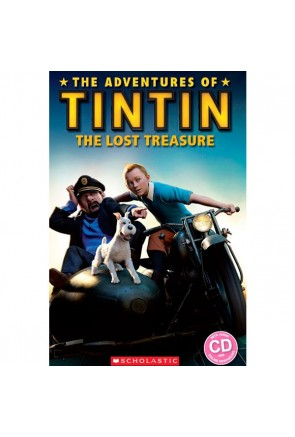 Tintin 3: The Lost Treasure (book & CD)