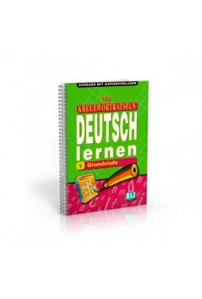 Mit Kreuzworträtseln Deutsch lernen 1 + 2