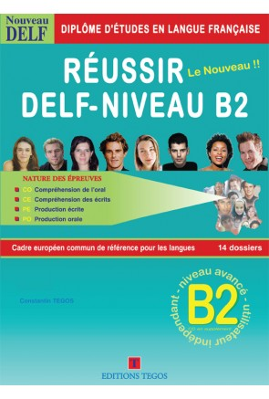 RÉUSSIR DELF B2 – LIVRE + CORRIGES + CD