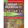 RÉUSSIR DALF C1 – LIVRE + CORRIGES + 2CD