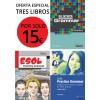 Pack 3 libros de gramática por solo 15 €