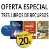 PACK 3 LIBROS DE RECURSOS POR SOLO 20 €