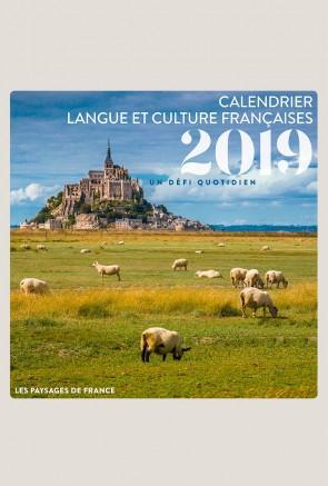 CALENDRIER 2019 – LE FRANÇAIS EN QUESTIONS