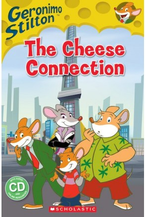 GERONIMO STILTON: THE CHESSE CONECTION  (BOOK + CD) – PRS