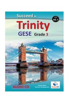 Succeed in Trinity-GESE-A2-Grade 3-4 - CD