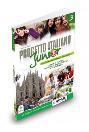 Progetto Italiano Junior 3 Libro dello Studente + CD + DVD
